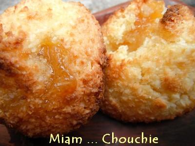 Rochers coco et crème de citron