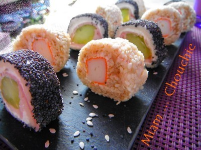 california makis de pain de mie
