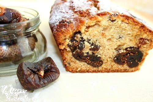 cake au miel et figues sèches