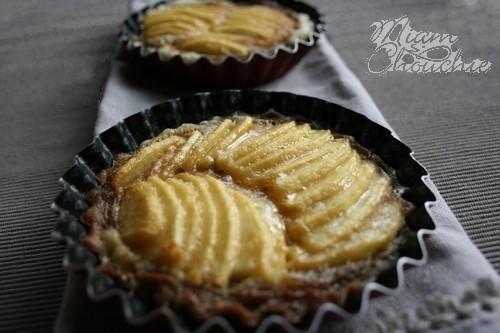 tarte aux pommes vergeoise
