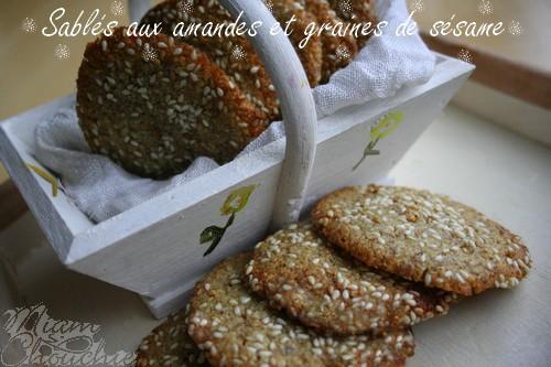 sablés-aux-amandes-graines-de-sésame