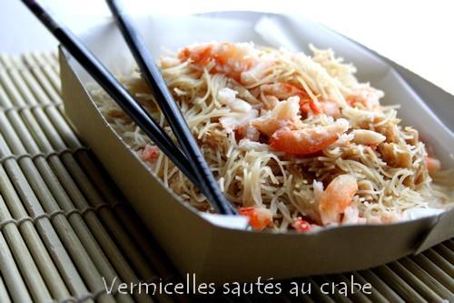 vermicelles-sauté-au-crabe