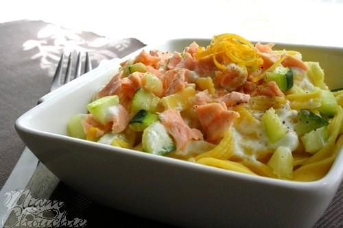 pâtes-au-saumon-courgettes