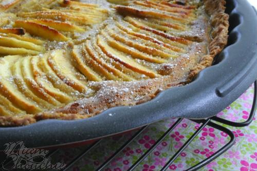 tarte-aux-pommes-et-crème-de -marrons