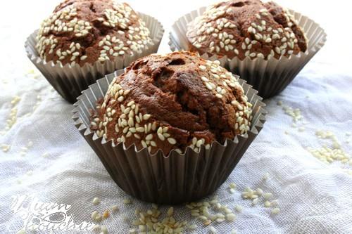 muffins-chocolat-tahini