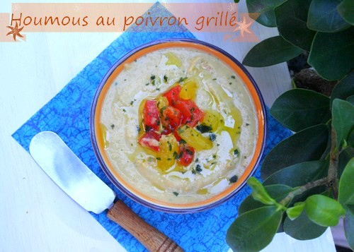 houmous-au-poivron