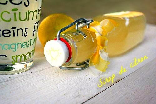 sirop-de-citron