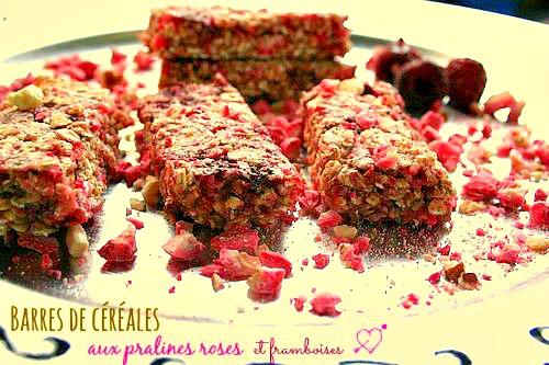 barres-de-céréales-pralines-roses-framboises