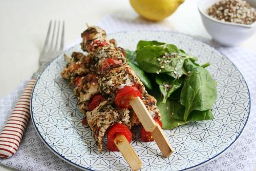 brochette-poulet-zaatar