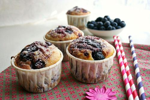 muffins-aux-myrtilles