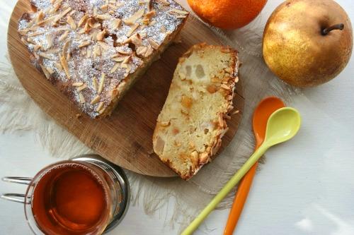 cake-poires-amandes-orange-confite