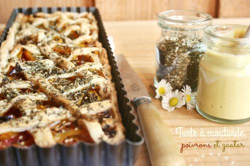 tarte-à-la-moutarde-poivrons