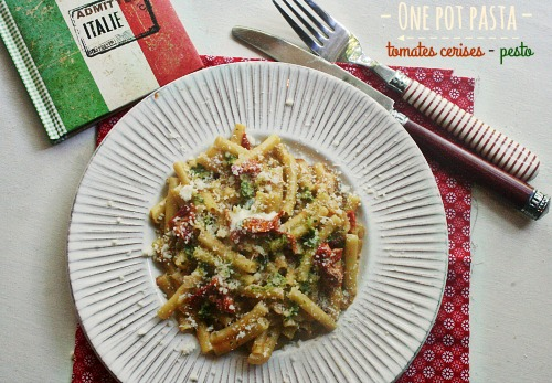 one-pot-pasta-tomates-pesto